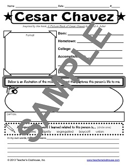 Worksheets Cesar Chavez Worksheet cesar chavez worksheets for kindergarten intrepidpath on the best and most prehensive