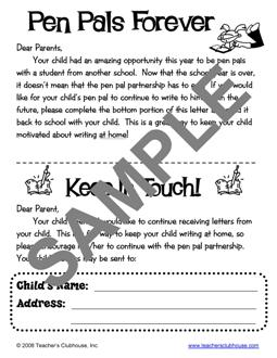 How to write a pen pal letter for kids images letter format formal organization resources from teachers clubhouse view sample expocarfo images spiritdancerdesigns Images