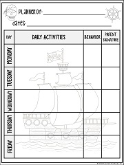 images about pirates on Pinterest   Pirate treasure  Pirates     Pirate Themed Homework Passes