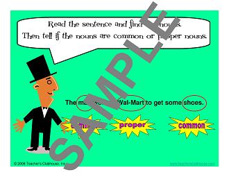 Grammar Skills Resources from Teacher's Clubhouse