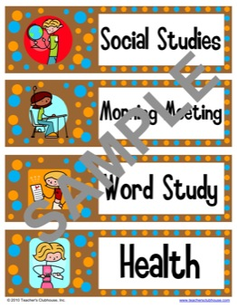 classroom theme resources from teachers clubhouse