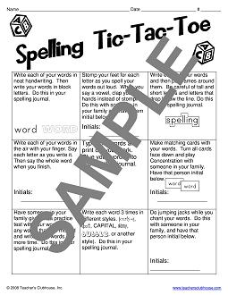 Word Study Resources from Teacher's Clubhouse