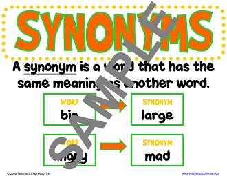 Printables Example Of Synonyms example synonym alisen berde synonym