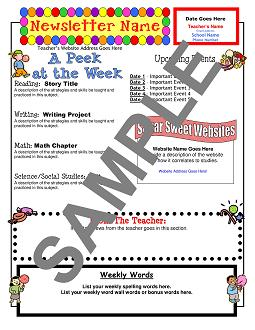 Templates from Teacher's Clubhouse