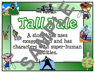 Fiction genre studies resources from teacher 39 s clubhouse for Tale definition